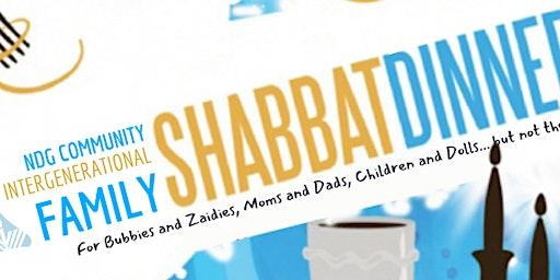 NDG Community Intergenerational Family Shabbat Dinner