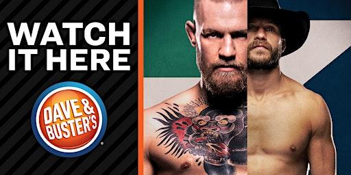 121, Dave & Buster's Madison WI - McGregor VS Cerrone 2020!!!