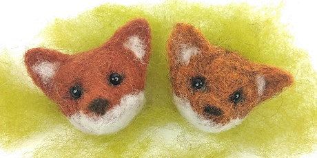 Needle Felt Fox Brooch Workshop @Craft4Crafters Show - Exeter tickets