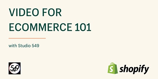 Video for Ecommerce 101