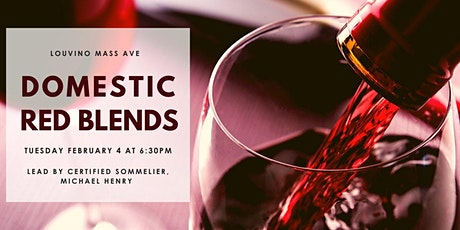 LouVino Mass Ave Wine Class: Domestic Red Blends tickets