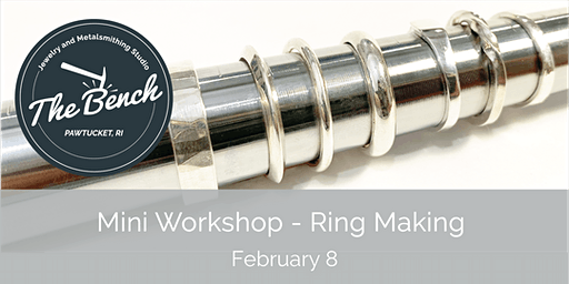 Silver Rings - Mini Jewelry Workshop