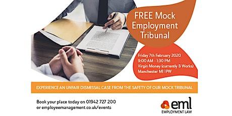 FREE Mock Employment Tribunal tickets
