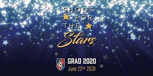 """""""Shoot for the Stars!""""               St. Catherine of Siena Graduation 2020"""