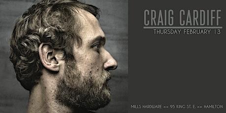 Craig Cardiff tickets