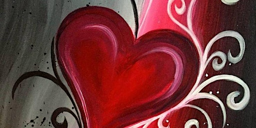 Valentine Paint Night at Grand Central