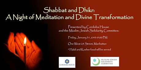 Shabbat and Dhikr: A Night of Meditation and Divine Transformation tickets