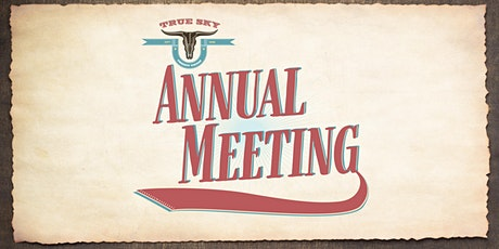 True Sky Credit Union 2020 Annual Meeting tickets