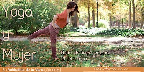 """Retiro de fin de semana """"Yoga y Mujer"""" entradas"""