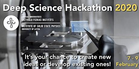 Deep Science Hackathon 2020 tickets