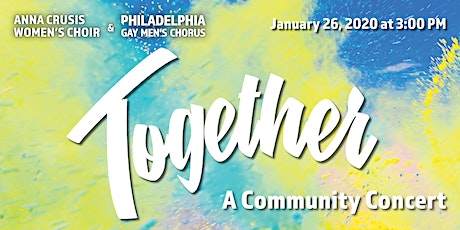 Together: A Community Concert (Free) tickets
