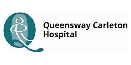 Volunteer Consultation at Queensway Carleton Hospital tickets