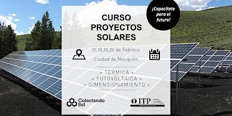 Curso de Proyectos Solares// Febrero Neuquén 2020 entradas