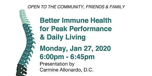 Better Immune Health for Peak Performance