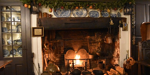 Winter Fireside Chat at the c1667 Daniels House