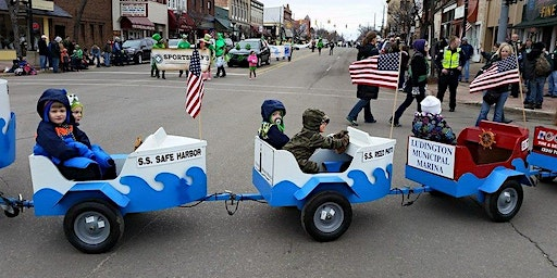 Ride in the Baby Badger - Shamrock Parade