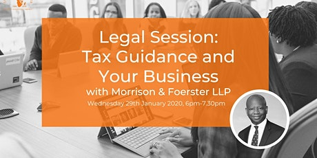 Legal Session: Tax Guidance and Your Business tickets