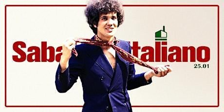 Sabato Italiano biglietti
