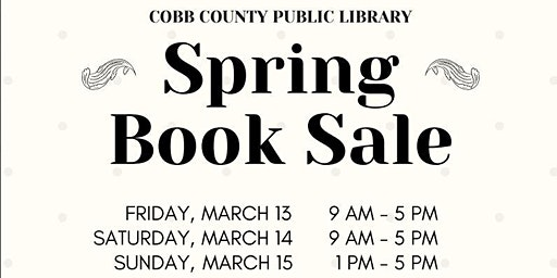 Cobb Library Spring 2020 Book Sale