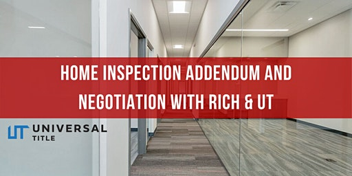 Home inspection negotiations & Removal of Contingency