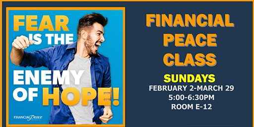 FINANCIAL PEACE CLASS