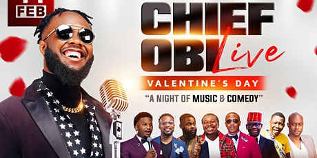 Chief Obi Live (Valentine's Day Comedy Show) tickets