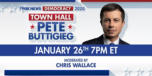 2020 Democratic Presidential Candidate Mayor Pete Buttigieg Town Hall