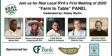 Real Local RVA's February 2020 Meeting tickets