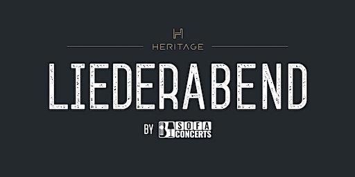 LIEDERABEND in der HERITAGE Bar - März Edition