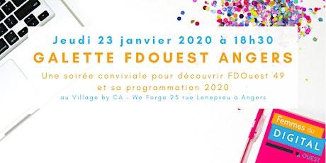 Galette FDOuest Angers : Présentation du Programme 2020 billets