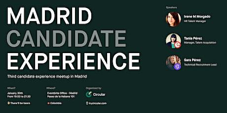 Candidate Experience Meetup III con Circular entradas