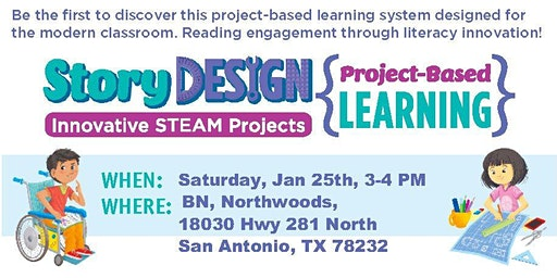 New K-8th STORY Design, Project-Based Learning, STEAM Projects