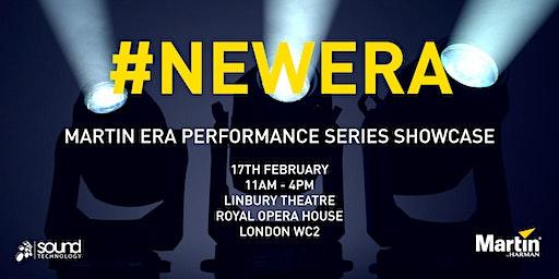 Martin ERA Performance Showcase at The Royal Opera House