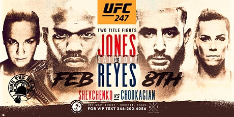 Ring the Belle Fight Night: UFC 247 Jones vs Reyes tickets