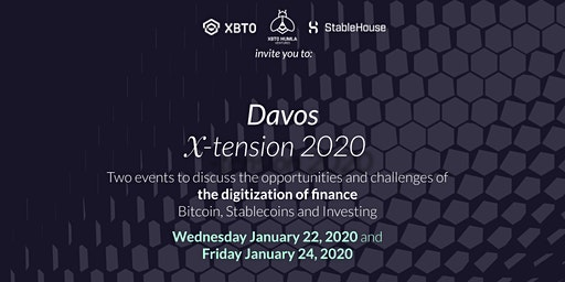 XBTO's X-Tension - Day 2 - Lunch and Fireside Chat with Saifedean Ammous
