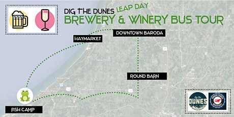 Leap Day Brewery & Winery Bus Tour tickets