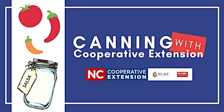 Canning With Cooperative Extension - Salsa tickets