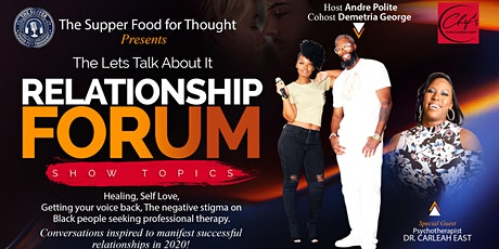 Let's Talk About It Relationship Forum tickets