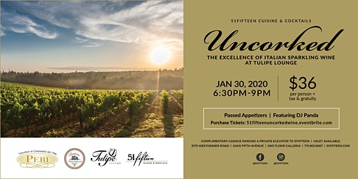 51fifteen's Uncorked: The Excellence of Italian Sparkling Wine