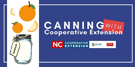 Canning With Cooperative Extension - Marmalade tickets