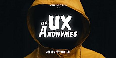 Les UX anonymes billets