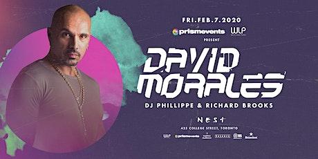 David Morales tickets