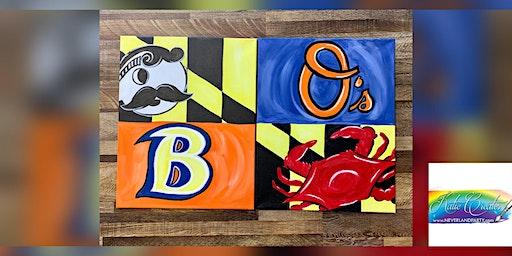 2for1 Baltimore Canvas: Dundalk, Seasoned Mariner with Artist Katie Detrich!