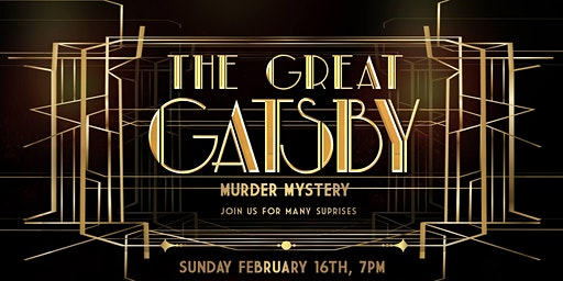Murder Mystery at The Great Gatsby Speakeasy