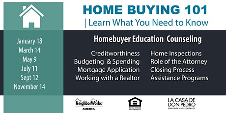 La Casa de Don Pedro Homebuyer Education 2020 tickets