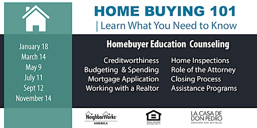 La Casa de Don Pedro Homebuyer Education 2020