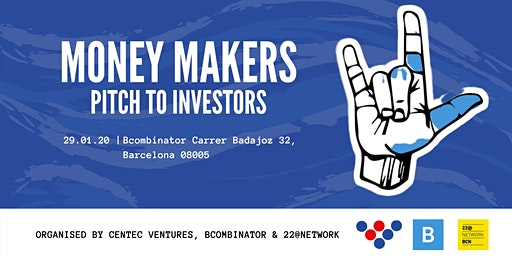 Money Makers - PITCH YOUR STARTUP TO INVESTORS!