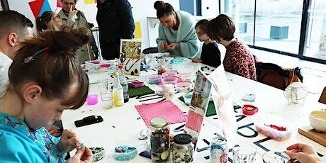 Children's beaded jewellery workshop half-term holidays Plymouth tickets