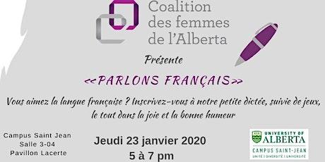 Parlons Français II tickets