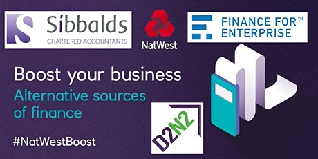 Funding For Your Business: Sources of Finance Available #SibbaldsAccountants tickets